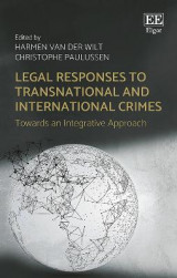 Omslag - Legal Responses to Transnational and International Crimes