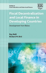 Omslag - Fiscal Decentralization and Local Finance in Developing Countries