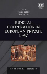 Omslag - Judicial Cooperation in European Private Law