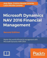 Omslag - Microsoft Dynamics NAV 2016 Financial Management