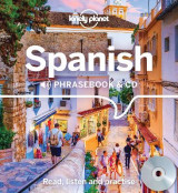 Omslag - Lonely Planet Spanish Phrasebook and CD