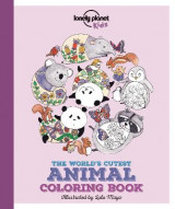 Omslag - Lonely Planet the World's Cutest Animal Colouring Book