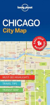 Lonely Planet Chicago City Map av Lonely Planet (Kart, uspesifisert)