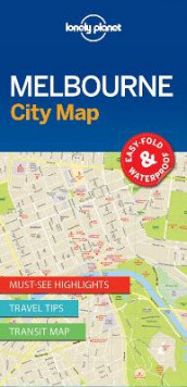 Lonely Planet Melbourne City Map av Lonely Planet (Kart, uspesifisert)