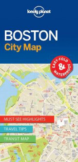 Omslag - Lonely Planet Boston City Map
