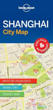 Lonely Planet Shanghai City Map av Lonely Planet (Kart, uspesifisert)