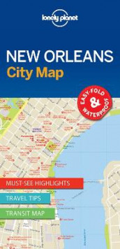 Lonely Planet New Orleans City Map av Lonely Planet (Kart, uspesifisert)