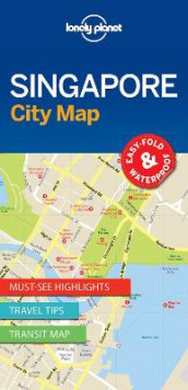 Lonely Planet Singapore City Map av Lonely Planet (Kart, uspesifisert)