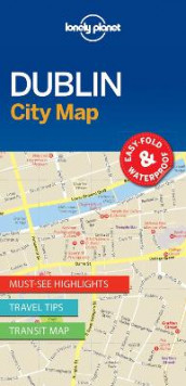 Lonely Planet Dublin City Map av Lonely Planet (Kart, uspesifisert)