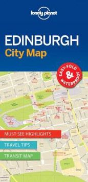 Lonely Planet Edinburgh City Map av Lonely Planet (Kart, uspesifisert)