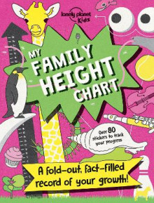 My Family Height Chart av Lonely Planet Kids (Heftet)