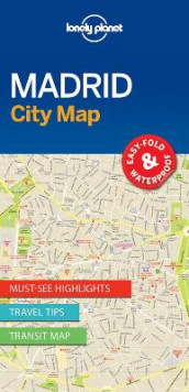 Lonely Planet Madrid City Map av Lonely Planet (Kart, uspesifisert)
