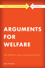 Omslag - Arguments for Welfare