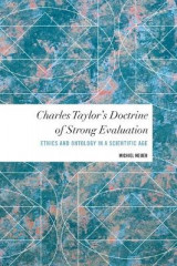 Omslag - Charles Taylor's Doctrine of Strong Evaluation