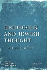 Omslag - Heidegger and Jewish Thought