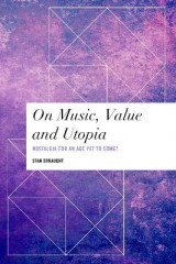Omslag - On Music, Value and Utopia