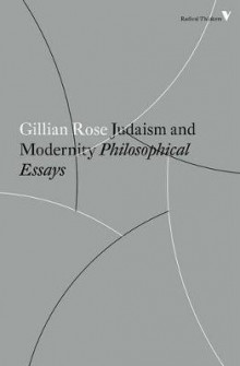 Judaism and Modernity av Gillian Rose (Heftet)