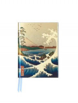 Omslag - Sea at Satta by Hiroshige (Foiled Pocket Journal)