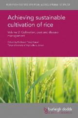 Omslag - Achieving Sustainable Cultivation of Rice: Volume 2
