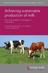 Omslag - Achieving Sustainable Production of Milk Volume 3