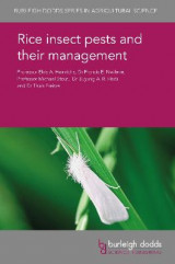 Omslag - Rice Insect Pests and Their Management