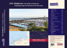 Imray 2150 Waddenzee - Den Helder to Norderney Chart Atlas 2020 2020 av Imray (Spiral)