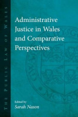 Omslag - Administrative Justice in Wales and Comparative Perspectives