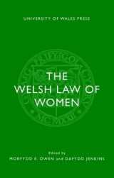 Omslag - The Welsh Law of Women