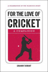 Omslag - For the Love of Cricket