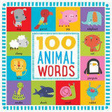 Omslag - 100 First Animal Words