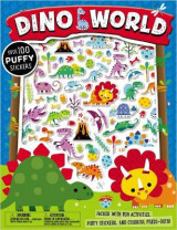 Omslag - Puffy Stickers Dino World