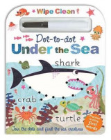 Omslag - Wipe Clean Dot-To-Dot Under the Sea