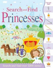 Search and Find Princesses av Susie Linn (Heftet)