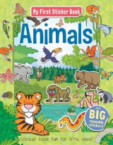Omslag - My First Sticker Book Animals