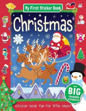 My First Sticker Book: Christmas av Susie Linn (Heftet)