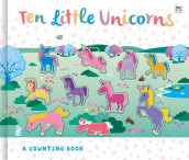 Ten Little Unicorns av Susie Linn (Innbundet)
