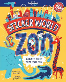 Sticker World - Zoo av Lonely Planet Kids og Becky Wilson (Heftet)