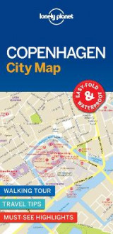 Omslag - Lonely Planet Copenhagen City Map
