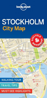 Omslag - Lonely Planet Stockholm City Map