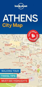 Omslag - Lonely Planet Athens City Map