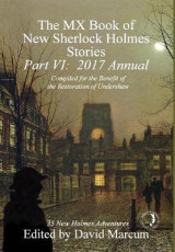 Omslag - The MX Book of New Sherlock Holmes Stories - Part VI: 2017 Annual