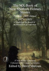Omslag - The MX Book of New Sherlock Holmes Stories - Part IX