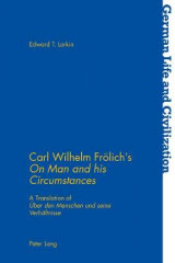 Omslag - Carl Wilhelm Froelich's on Man and His Circumstances