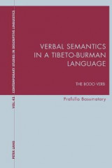 Omslag - Verbal Semantics in a Tibeto-Burman Language