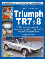 Omslag - How To Restore Triumph TR7 & 8
