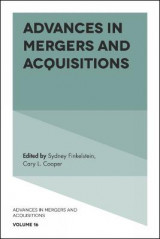 Omslag - Advances in Mergers and Acquisitions