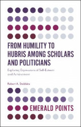 Omslag - From Humility to Hubris among Scholars and Politicians