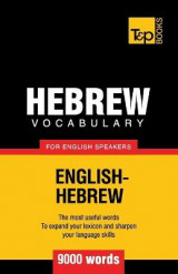 Omslag - Hebrew Vocabulary for English Speakers - 9000 Words