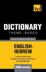 Omslag - Theme-Based Dictionary British English-Hebrew - 5000 Words
