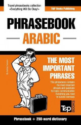 Omslag - English-Arabic Phrasebook and 250-Word Mini Dictionary